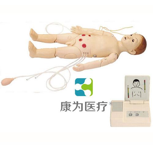 """""""康为医疗""""高级儿童综合急救训练模拟人(ACLS高级生命支持、嵌入式系统)"""