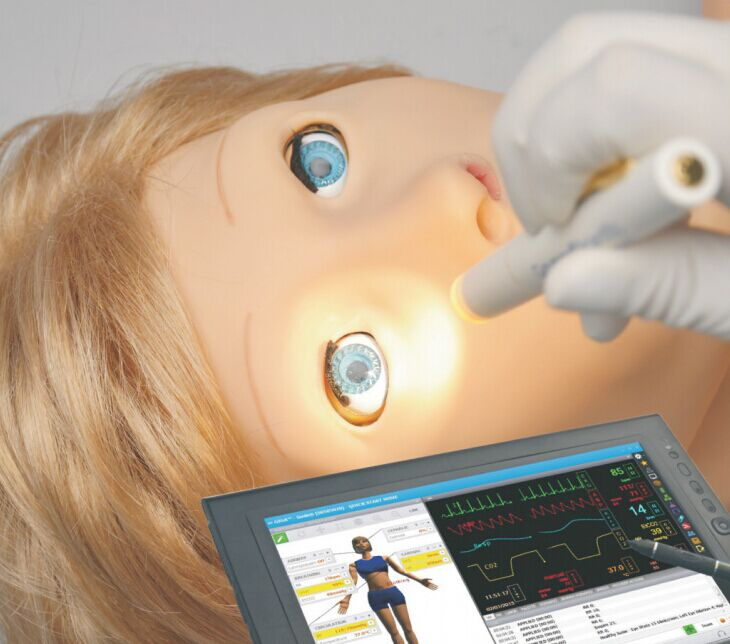 无线智能护理模拟人 SUSIE®全球唯一高端女性生理护理模拟人