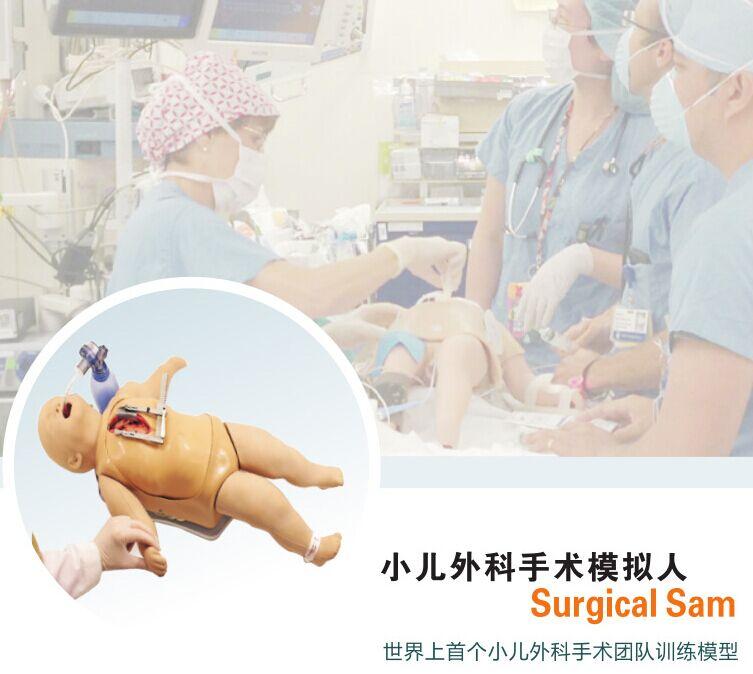 小儿外科手术模拟人,产品编号:SurgicalSam