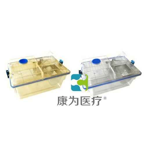 """张掖""""康为医疗""""大鼠笼盒(外置式水瓶)"""