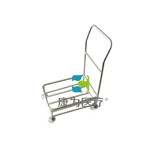 """""""康为医疗""""塑料盒运输车(带柄)"""