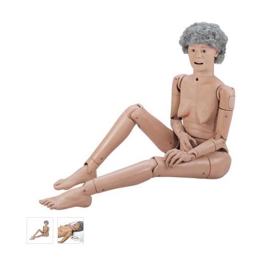 张掖德国3B Scientific®基础型GERi™护理技术老年人医护训练模型