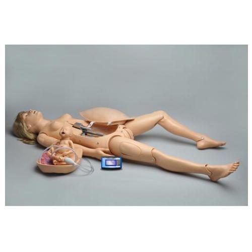 德国3B Scientific®NOELLE™ 分娩模型,不带心肺复苏婴儿模型