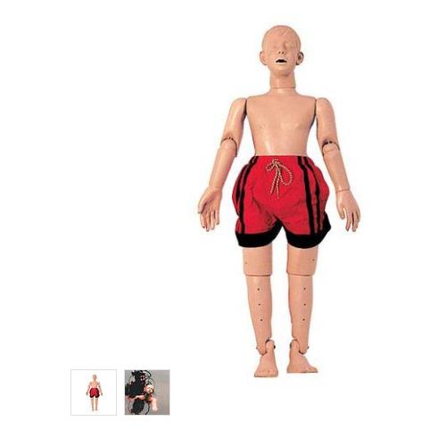 张掖德国3B Scientific®水中救护模型,带复苏功能(青少年),121公分