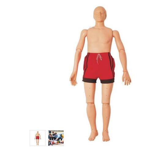 张掖德国3B Scientific®水上救护模型,带复苏功能(成人),165 cm