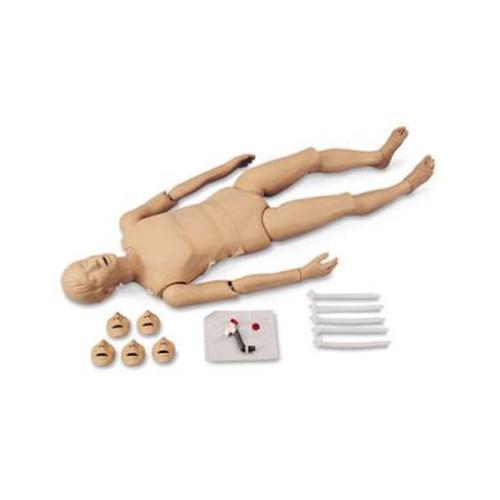 张掖德国3B Scientific®全身心肺复苏(CPR)人体模型,带创伤