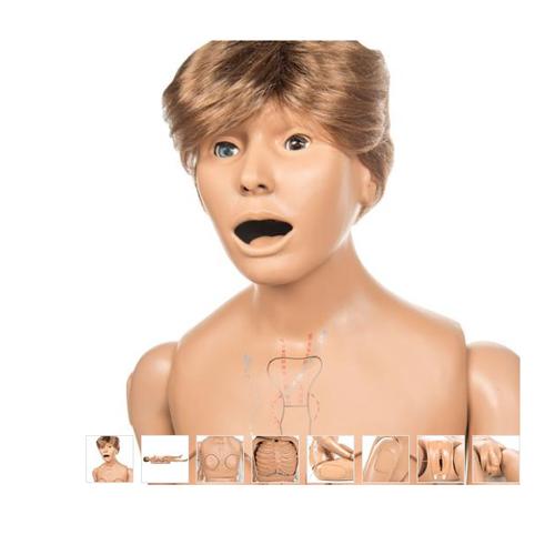 张掖德国3B Scientific®CPR Susie高级急救护理模型