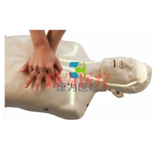 """""""康为医疗""""血流可视化CPR培训模型,可视化血液循环CPR操作模拟人"""